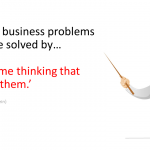 New Thinking = New Sales Results (Part 1)