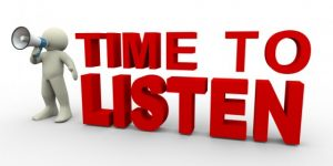 Isn't It Time To Really Listen